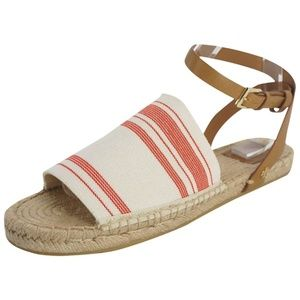 Tory Burch Stretch-Canvas Espadrille Sandal
